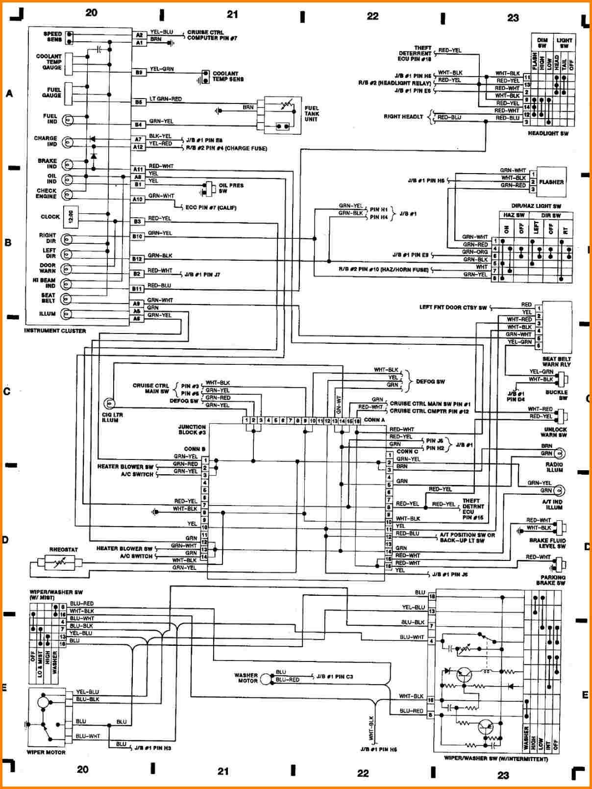 99 Toyotum Fuse Box Diagram
