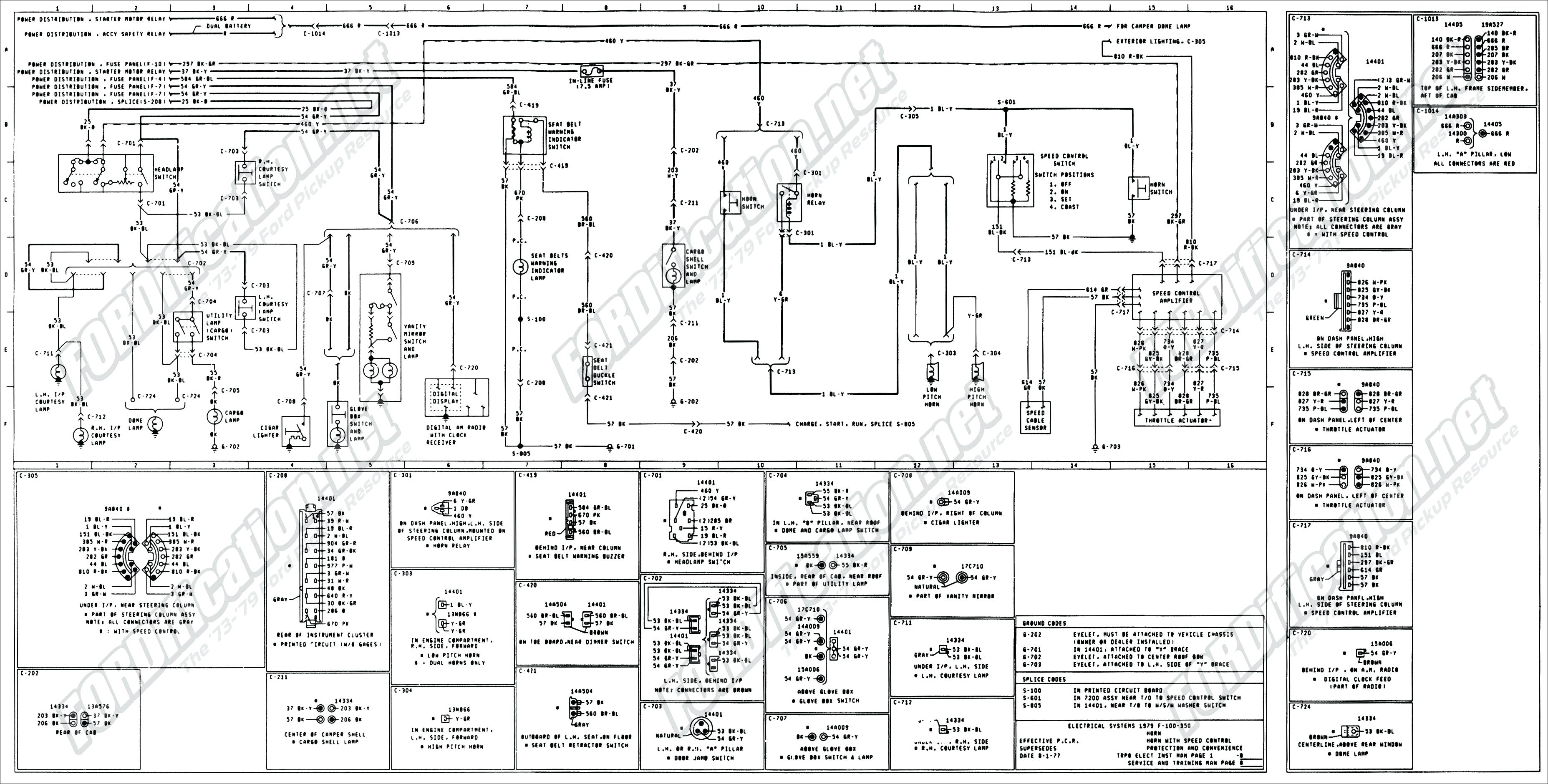 ford 6610 electrical diagram