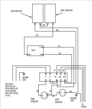 3 Wire Submersible Pump Wiring Diagram | Free Wiring Diagram