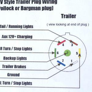 6 Pin Trailer Connector Wiring Diagram | Free Wiring Diagram