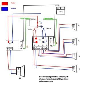 5 Channel Amp Wiring Diagram  camizu