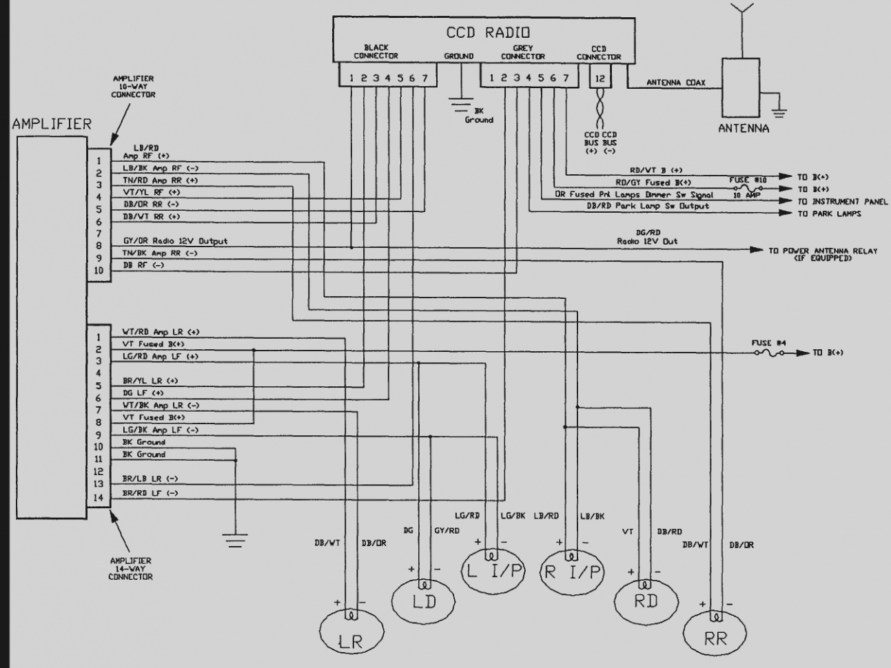 Radio Wiring Diagram Jeep Grand Cherokee