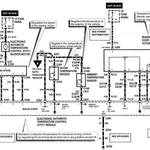 97 Lincoln Continental Radio Wiring Diagram | Free Wiring