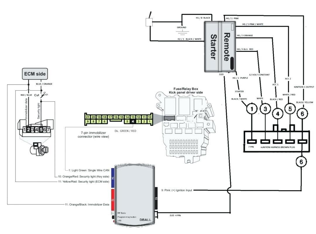 Aftermarket Keyless Entry Wiring Diagram