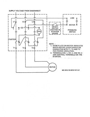 Air Compressor Wiring Diagram 230v 1 Phase | Free Wiring