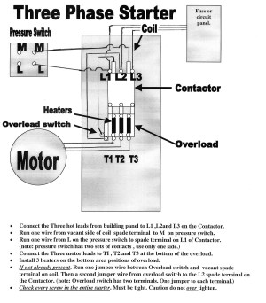 Air Compressor Wiring Diagram 230v 1 Phase | Free Wiring