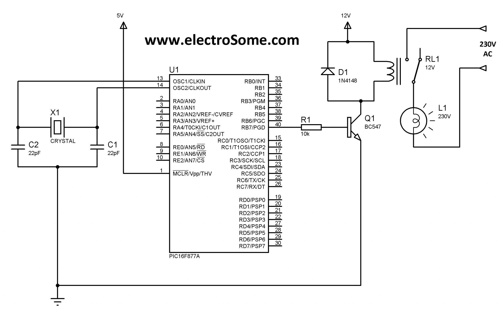 8 Pin Relay Schematic Cube