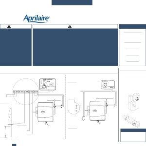Aprilaire Model 600 Wiring Diagram | Free Wiring Diagram
