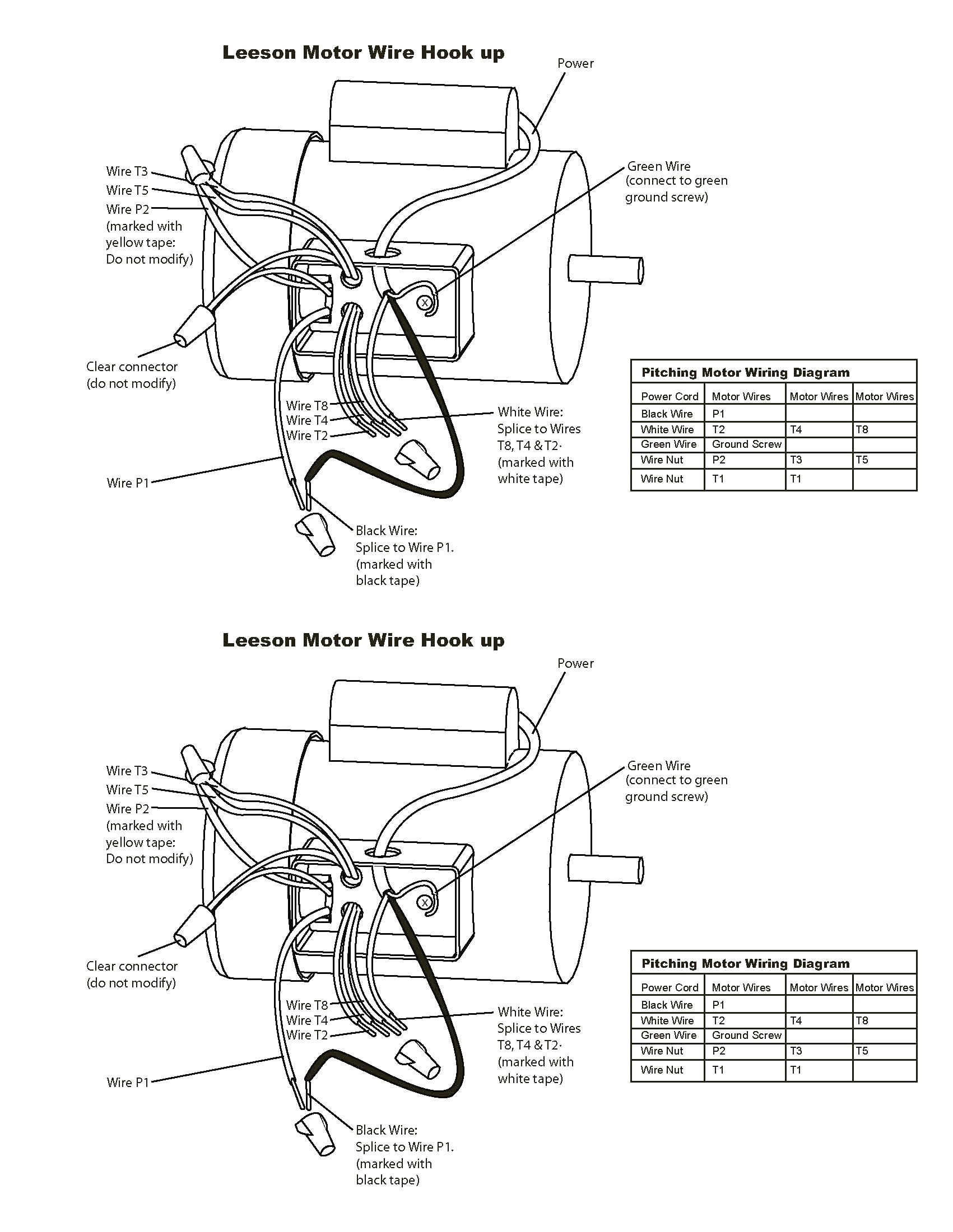 Baldor Industrial Motor Wiring Diagram