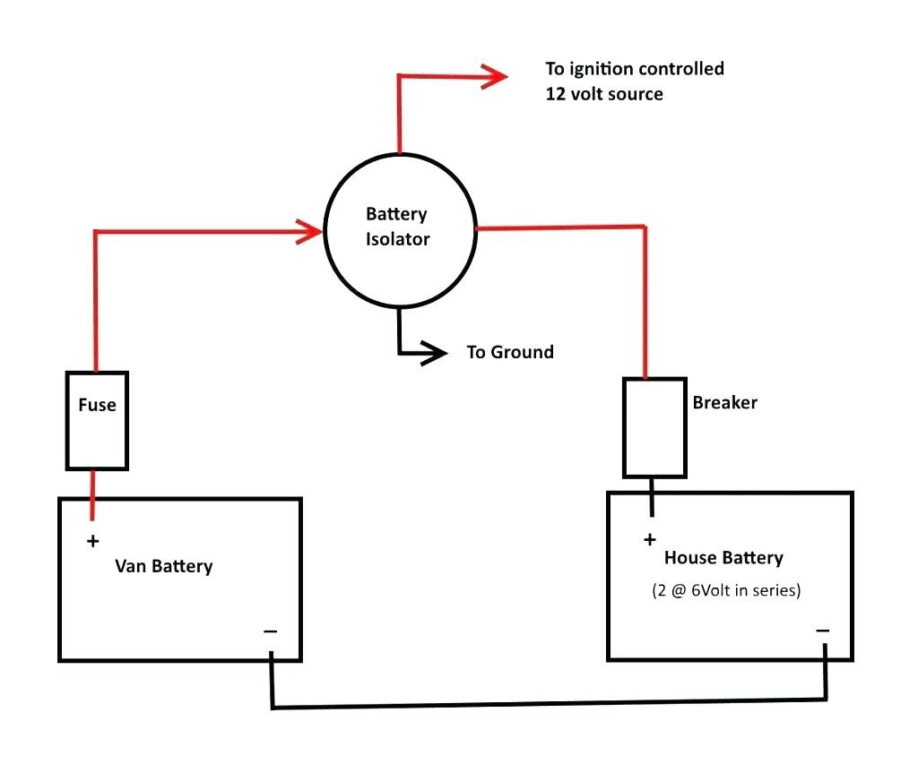 Battery Isolator Wiring Schematic