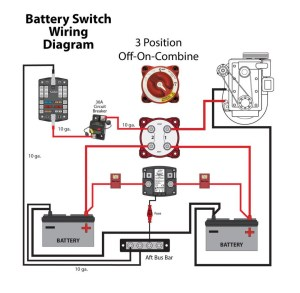 Blue Sea Dual Battery Switch Wiring Diagram | Free Wiring