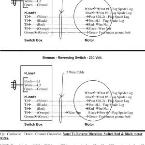 Bremas Boat Lift Switch Wiring Diagram | Free Wiring Diagram