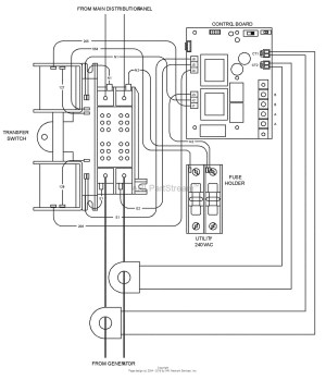 Briggs and Stratton Transfer Switch Wiring Diagram | Free