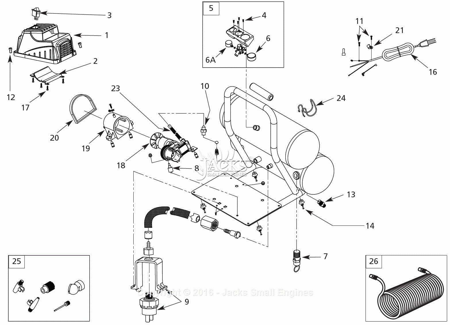 Campbell Hausfeld Air Compressor Wiring Diagram