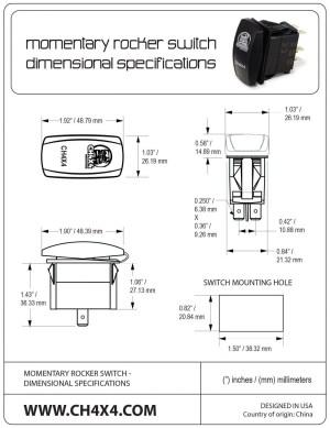 Carling Technologies Rocker Switch Wiring Diagram | Free