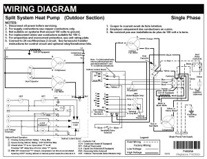 Carrier Heat Pump Low Voltage Wiring Diagram | Free Wiring