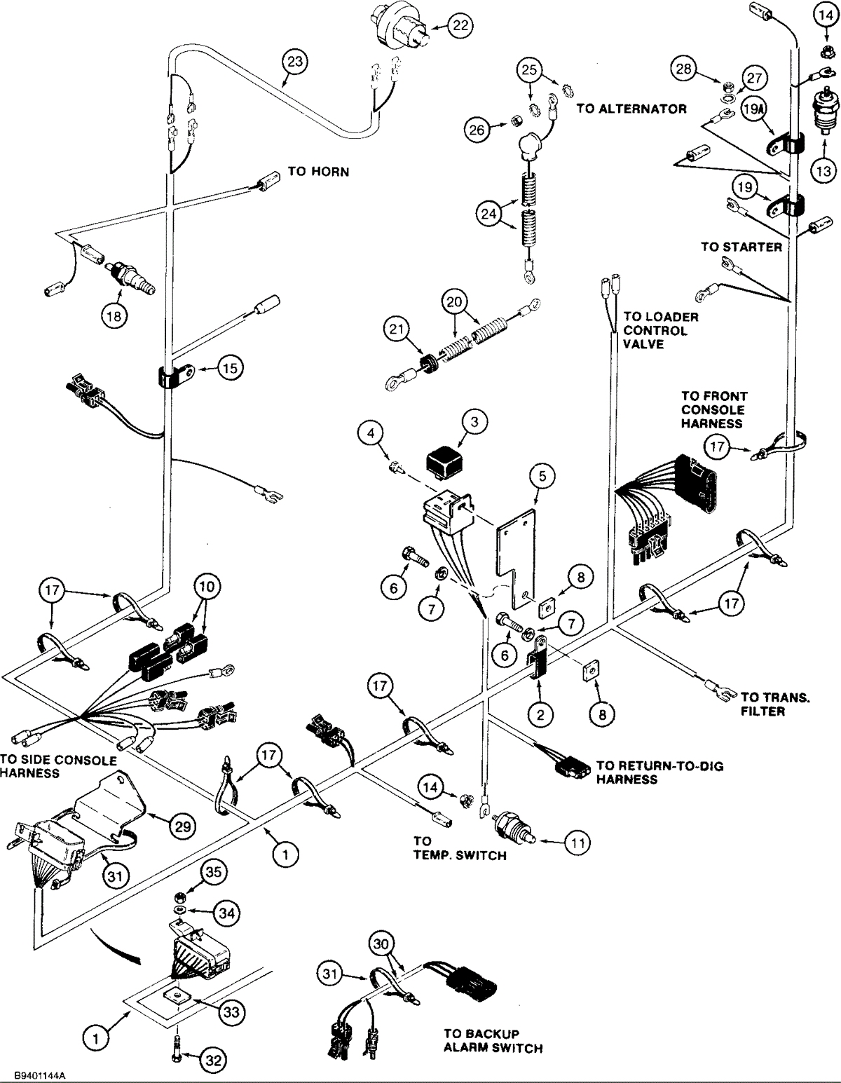Backhoe 580 E Wiring Diagram Free Apktodownload