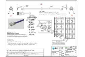 Cat6 Cable Wiring Diagram | Free Wiring Diagram