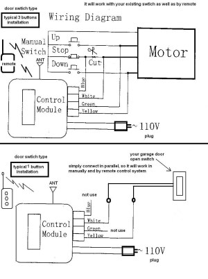 Chamberlain Garage Door Wiring Diagram | Free Wiring Diagram