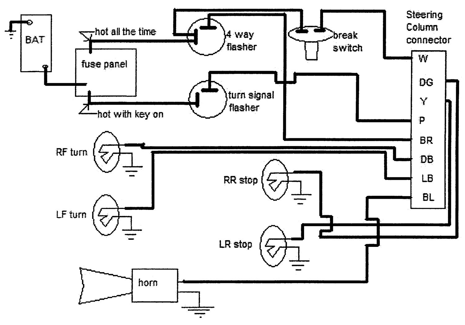 Brake Wiring Diagram For 99 Chevy