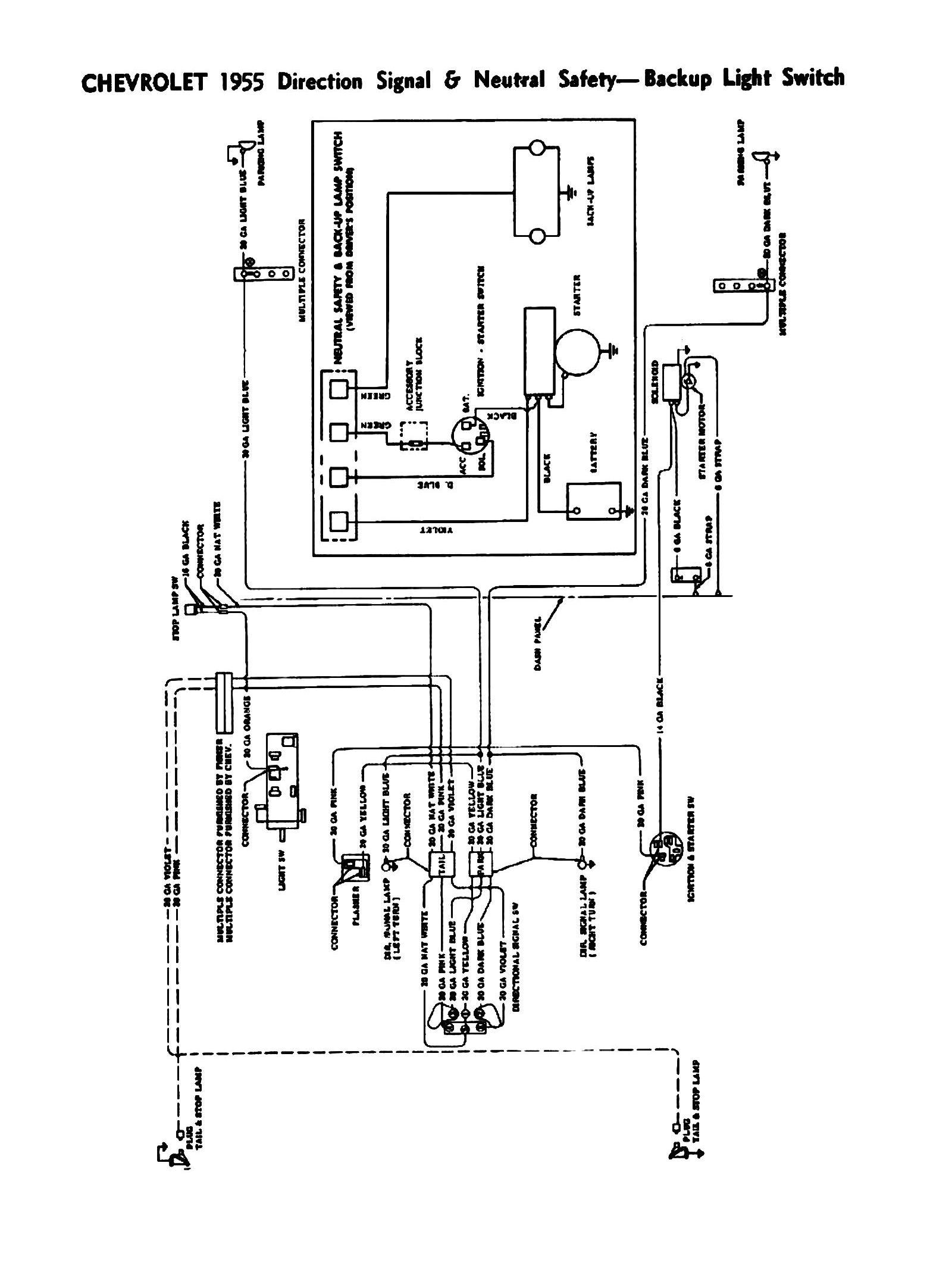 Chevy Turn Signal Switch Wiring Diagram