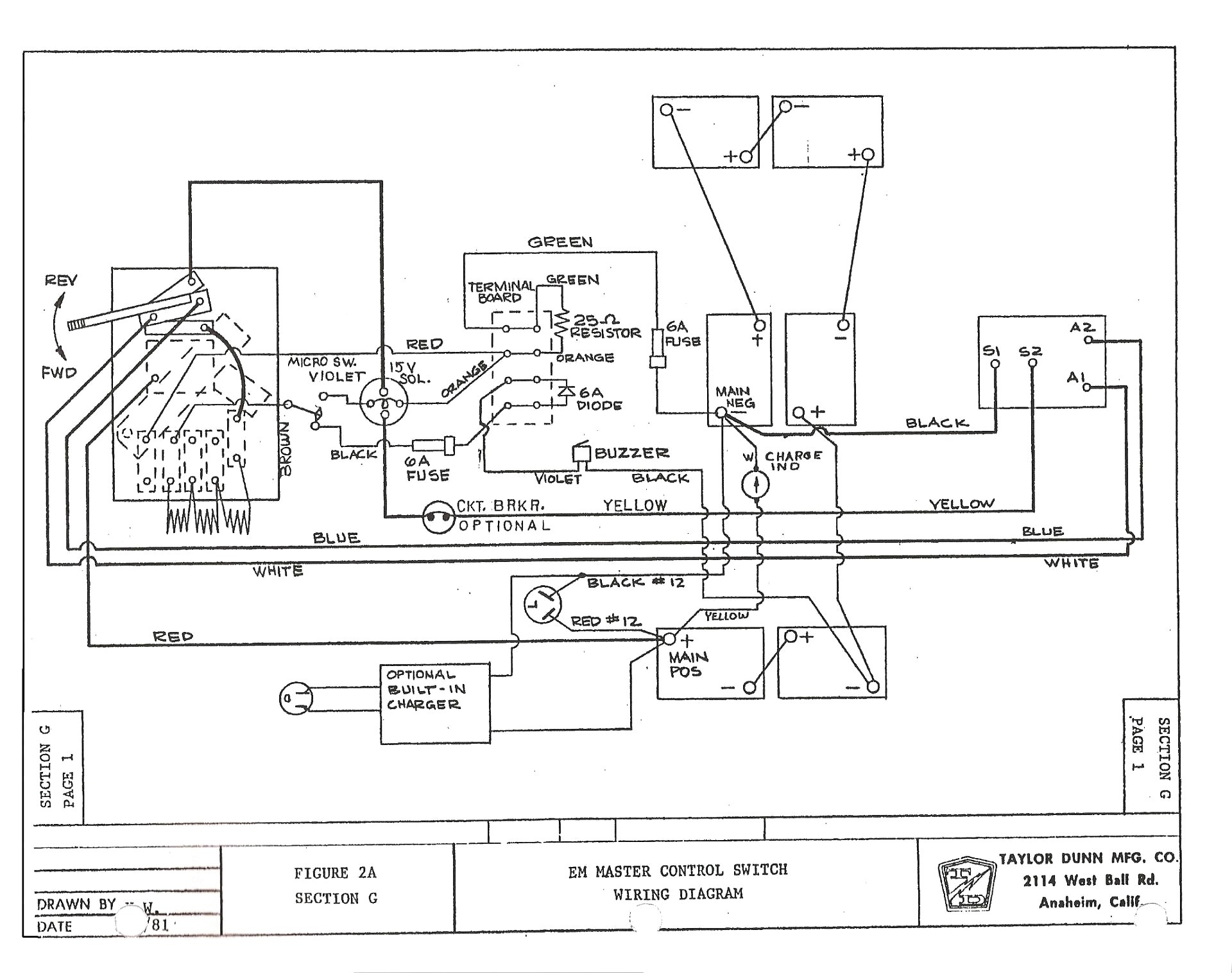 K10 Wiring Diagram