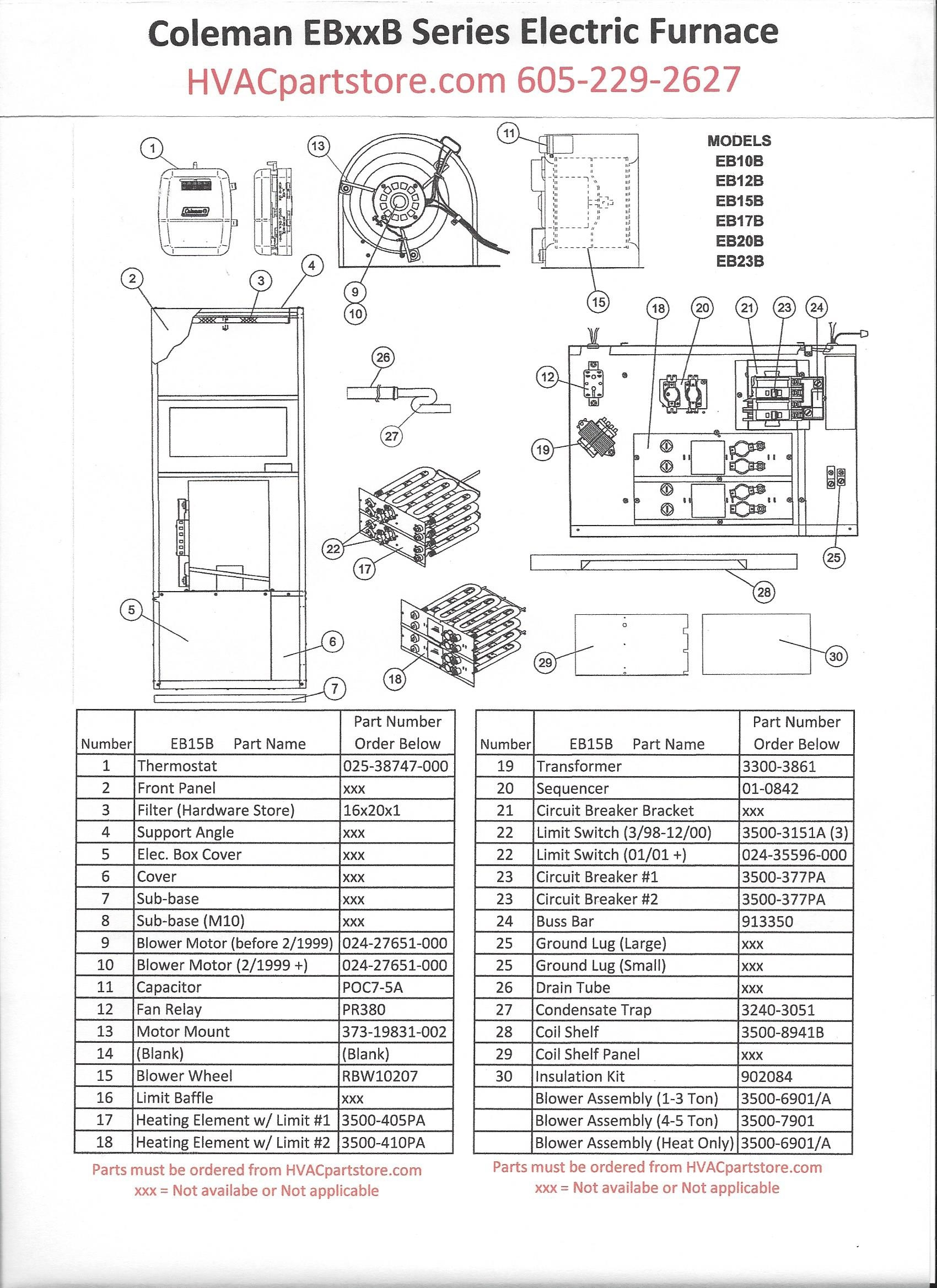 Coleman Furnace Thermostat Wiring Diagram Free Download