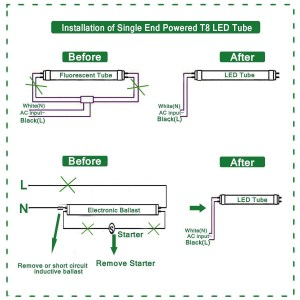 Convert T12 to T8 Wiring Diagram | Free Wiring Diagram