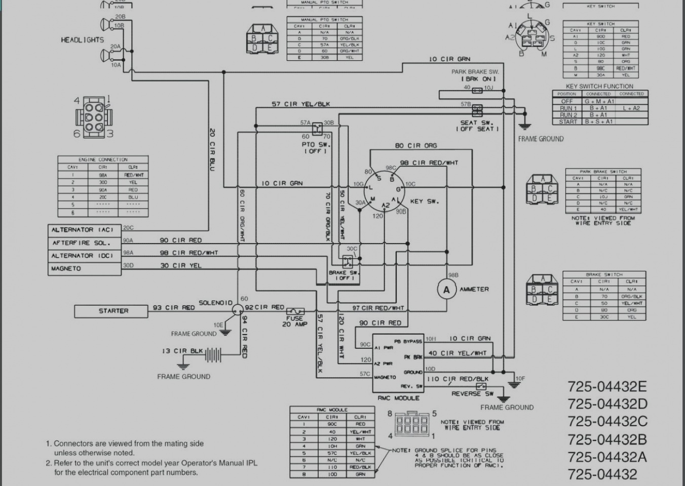 Garage Door Switch Schematics
