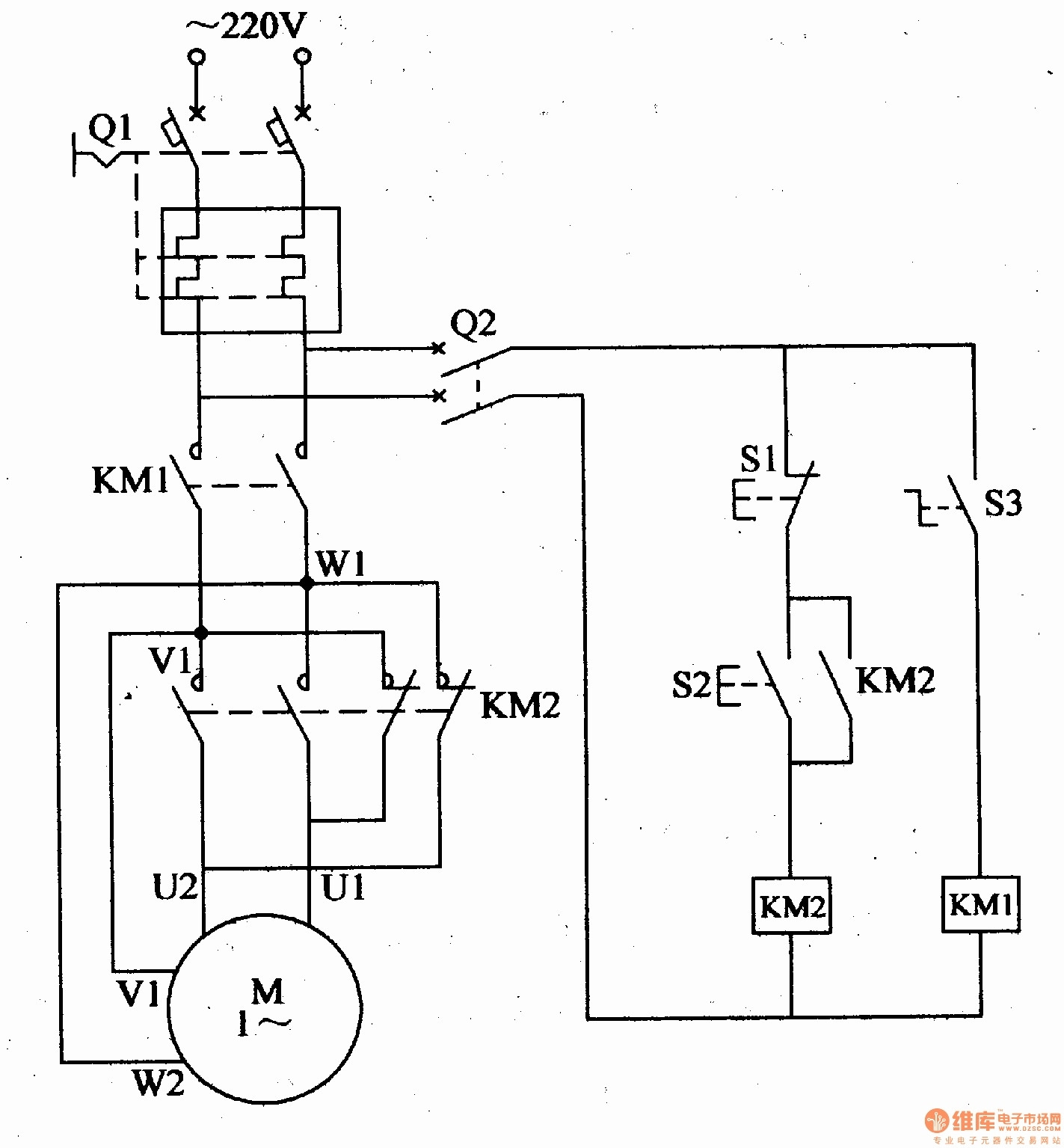 Electric Motor Wiring Diagram Capacitor