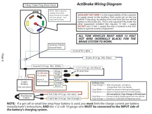 Dodge Trailer Wiring Diagram 7 Pin | Free Wiring Diagram