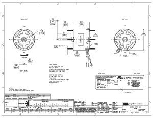 Emerson Motor Wiring Diagram | Free Wiring Diagram