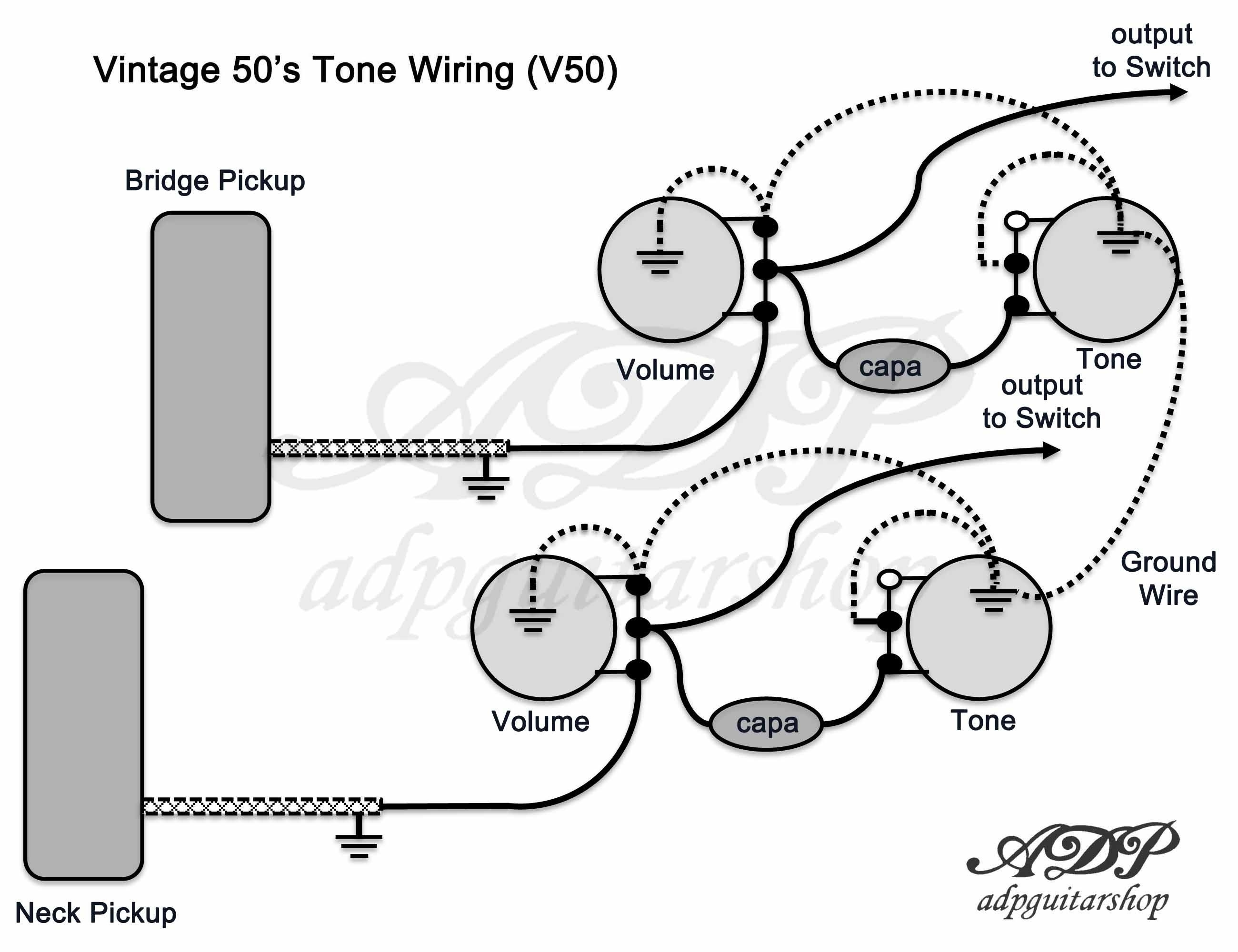 Epiphone Les Paul Wiring Schematic