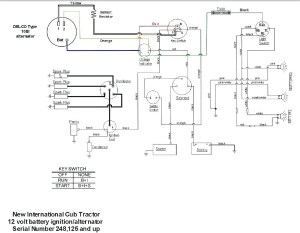 Farmall H 12 Volt Conversion Wiring Diagram | Free Wiring