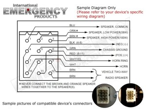 Federal Signal Legend Lightbar Wiring Diagram | Free