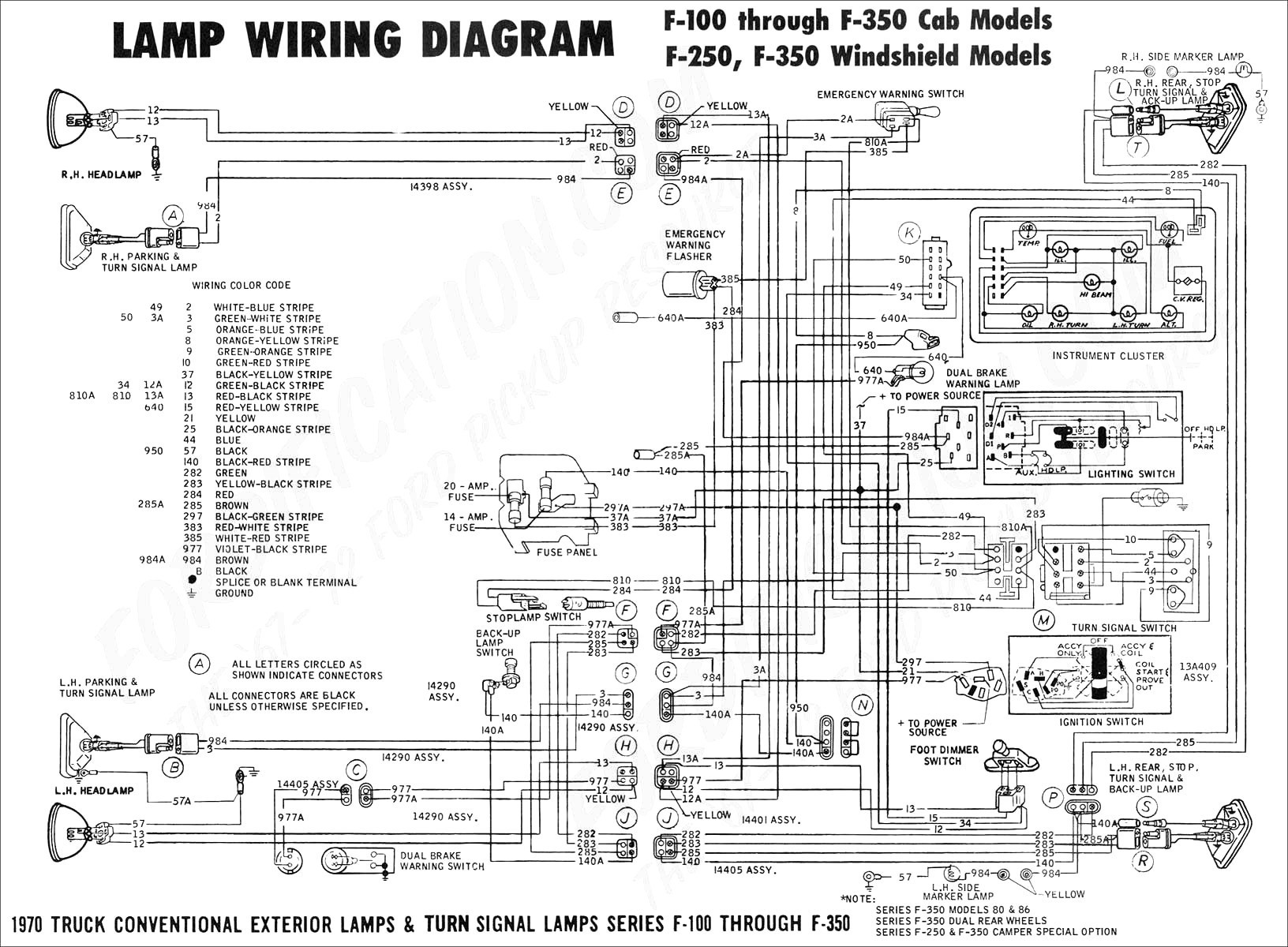 7 Pin Trailer Connector Wiring Diagram For F350 - Catalogue ...  Pin Trailer Wiring Diagram F on