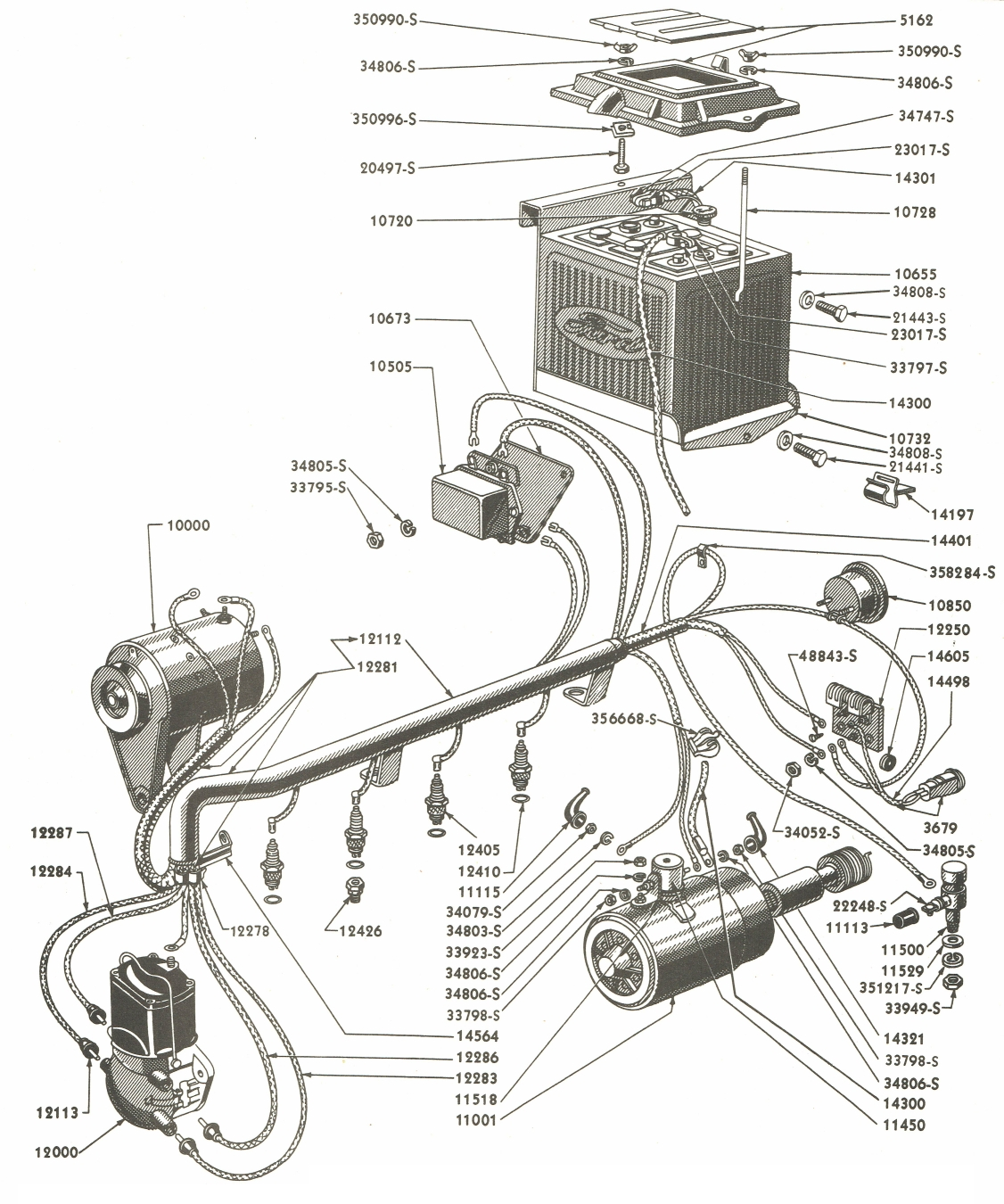 Ford 9n Wiring Schematic