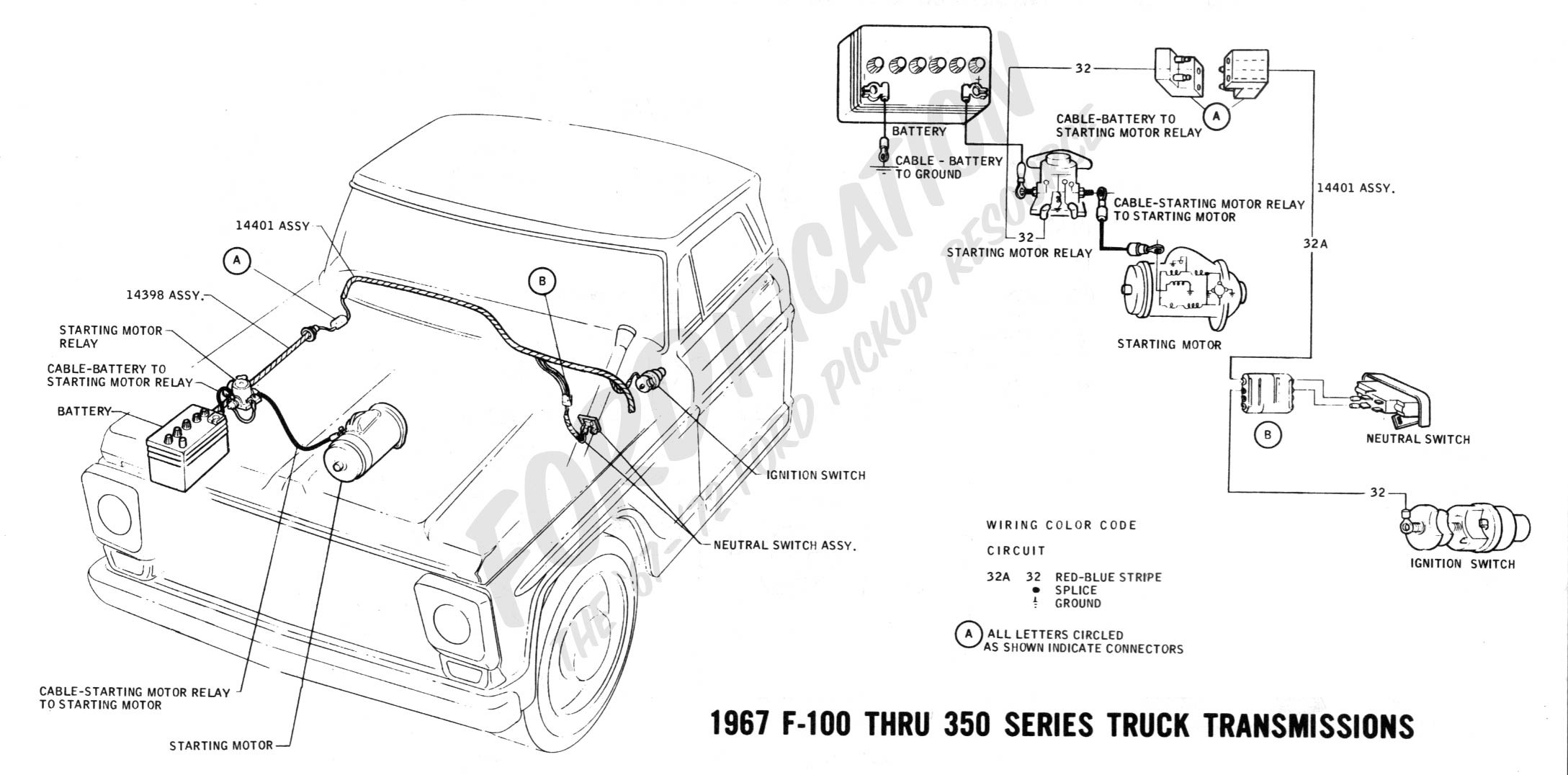 Wiring Diagram For A F350