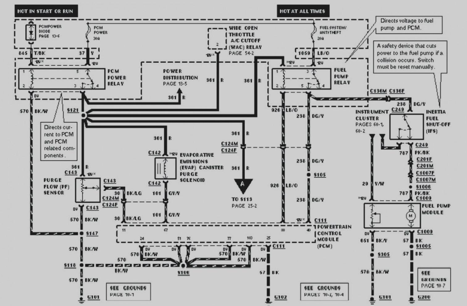 Ford Power Mirror Wiring Diagram