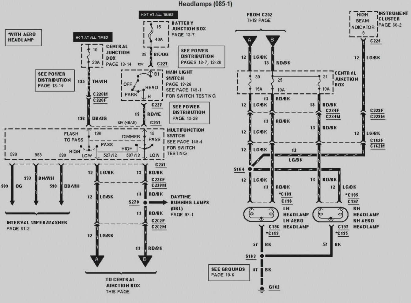 Ford F53 Chassis Wiring Schematic