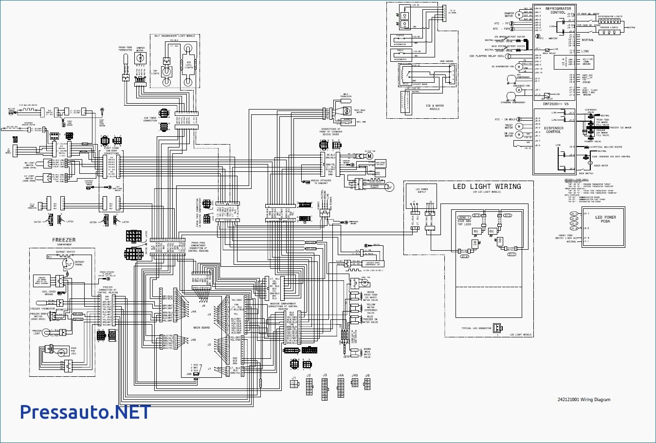 Ge Ice Maker Schematic