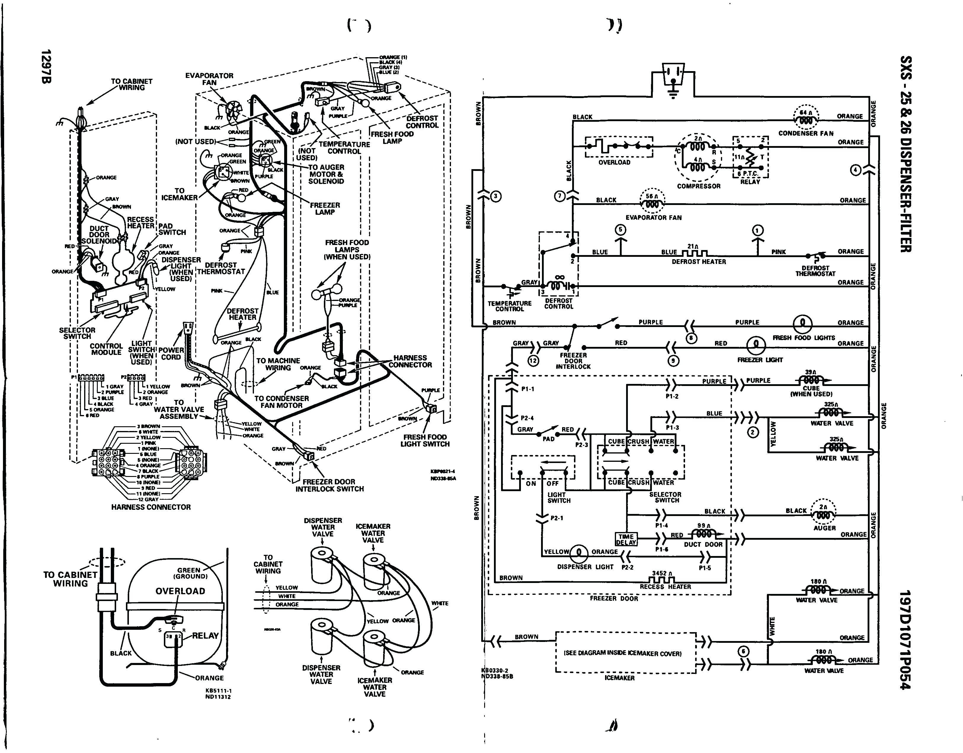 Frigidaire Refrigerator Wiring Diagram