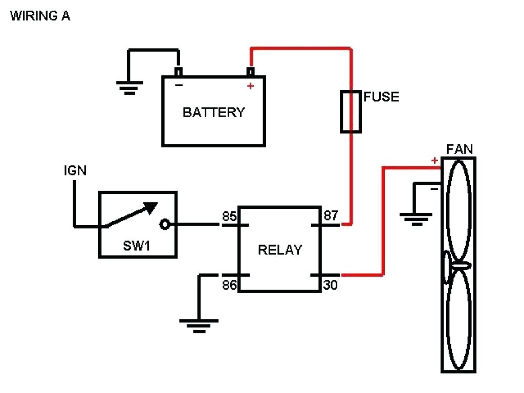 Furnace Fan Relay Wiring Diagram