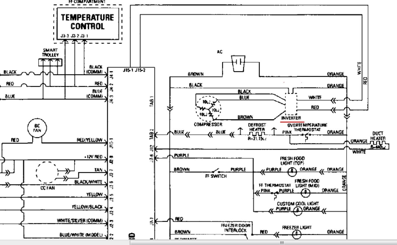 General Electric Refrigerators Schematics