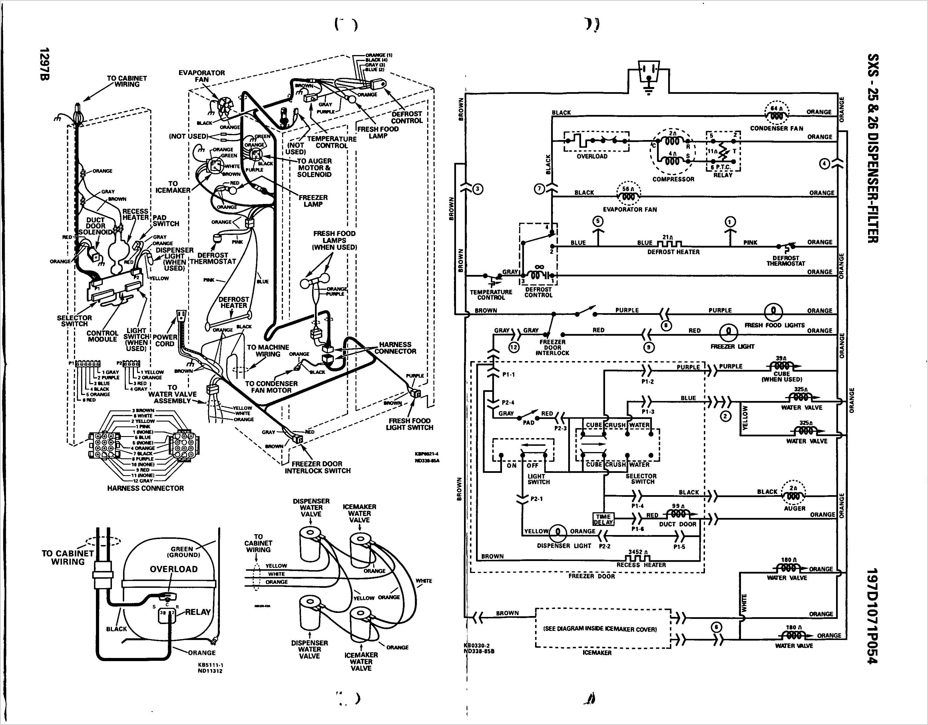 Wiring Diagram Ge Profile - Engine Mechanical Components on