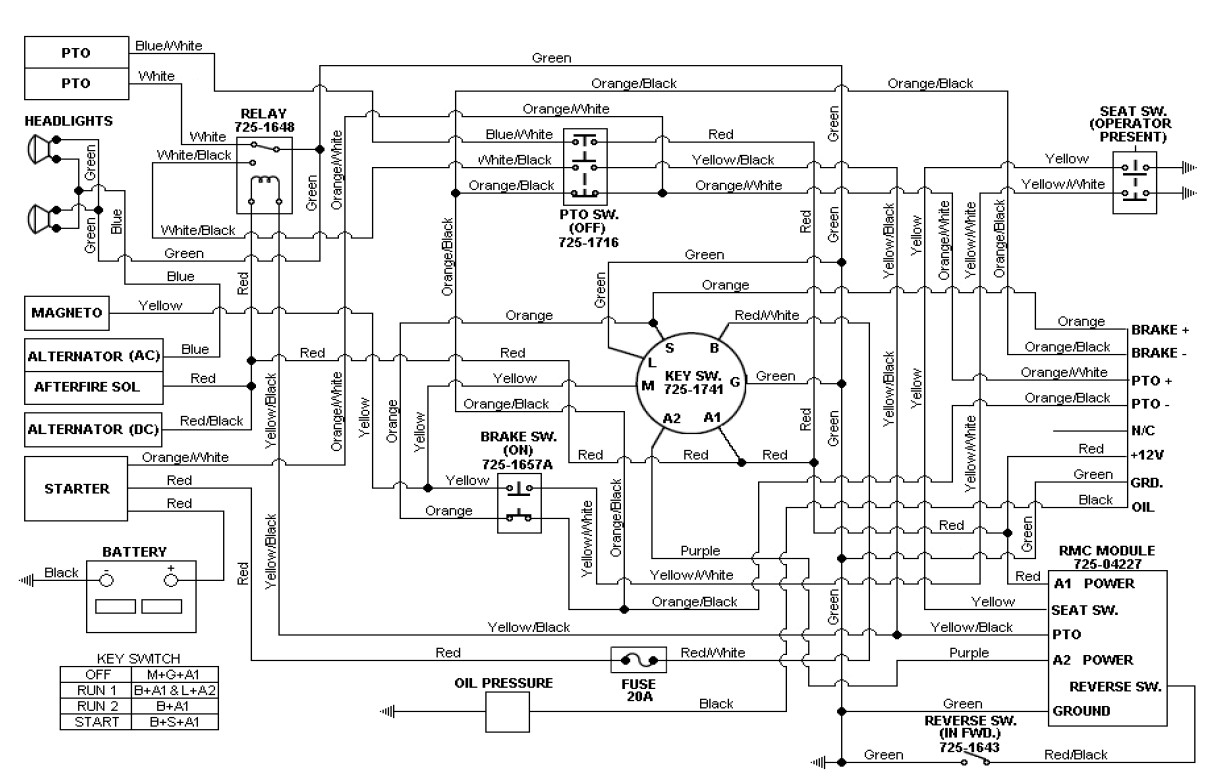 240v schematic wiring diagram