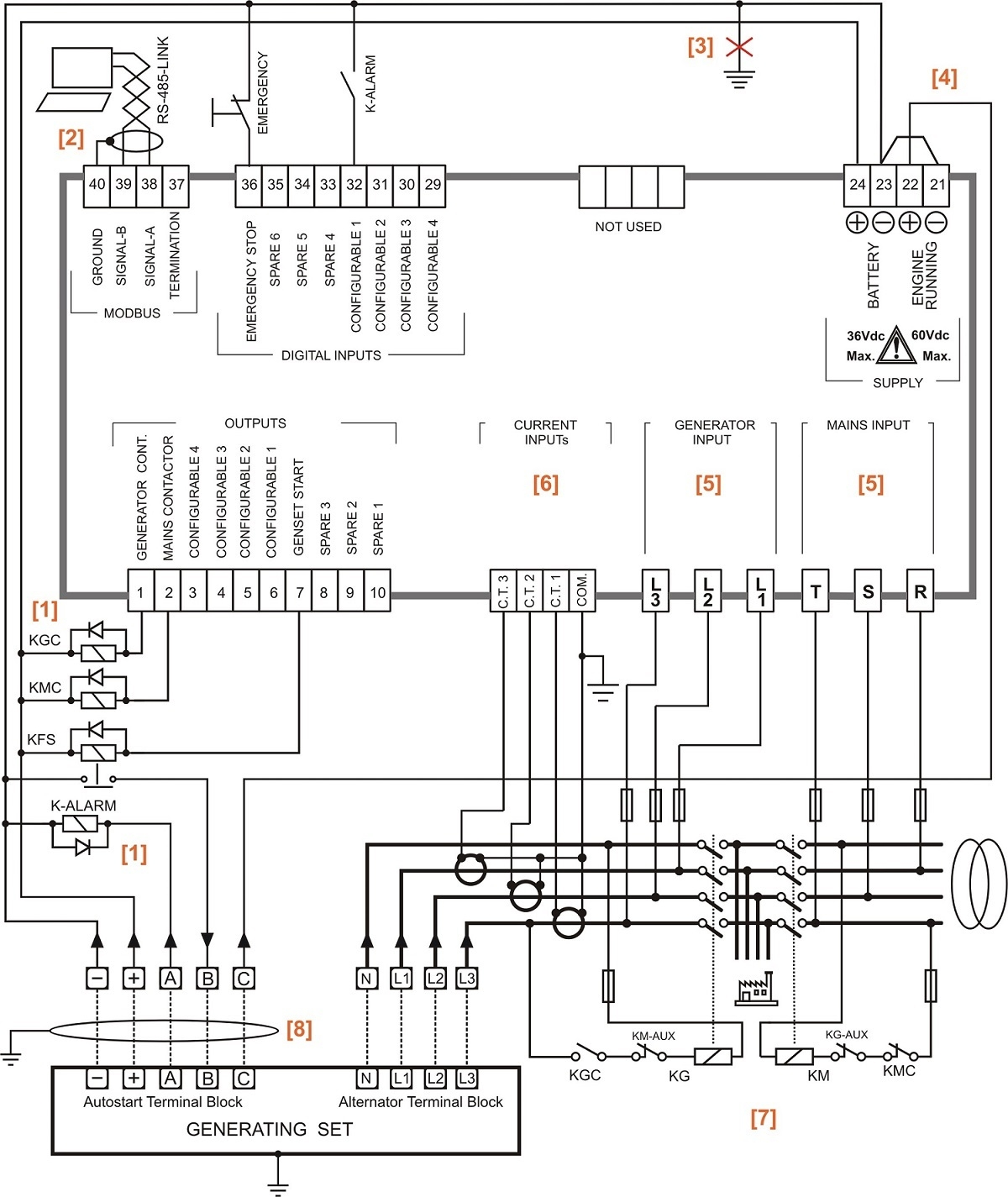 Generator Wiring Diagram And Electrical Schematics