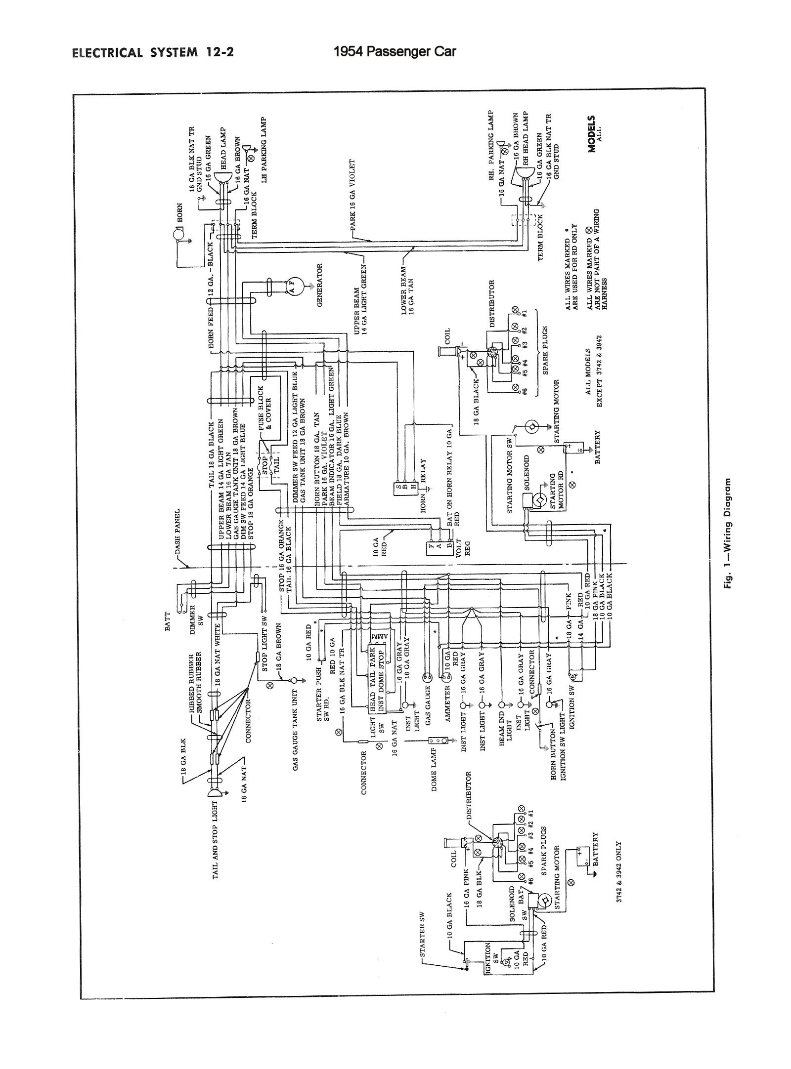 Chevy Pickup Wiring Diagram
