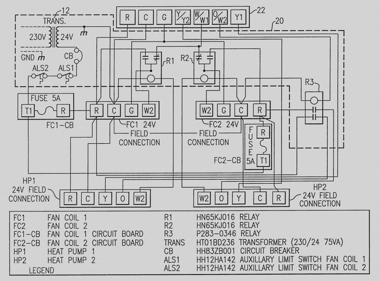 Goodman Aruf Air Handler Wiring Diagram