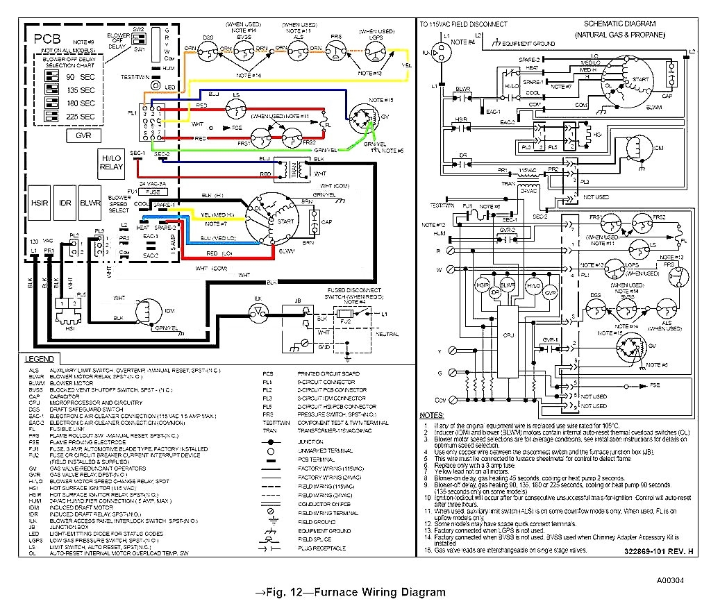 Goodman Air Handler Control Board Wiring Diagram With